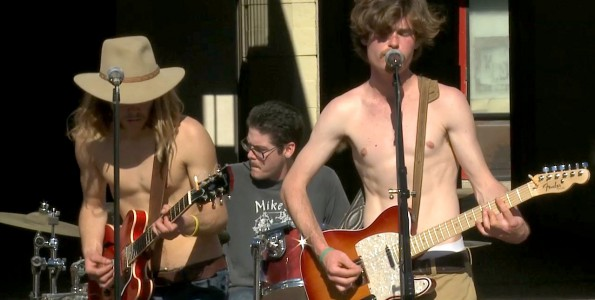 """Sprouts Live @ UCSB Storke Tower.The Band """"The weight"""" cover"""