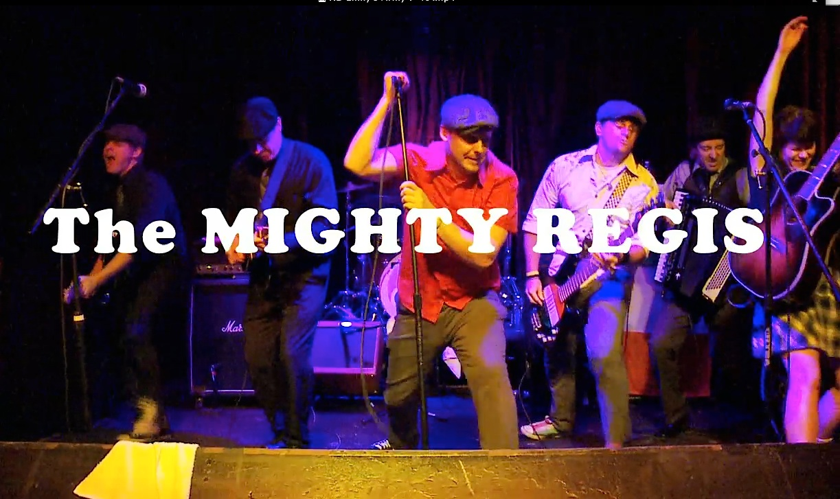 Mighty Regis in concert at Santa Barbara.