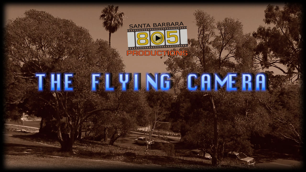 Residential Event aerial videography photography production in Santa Barbara