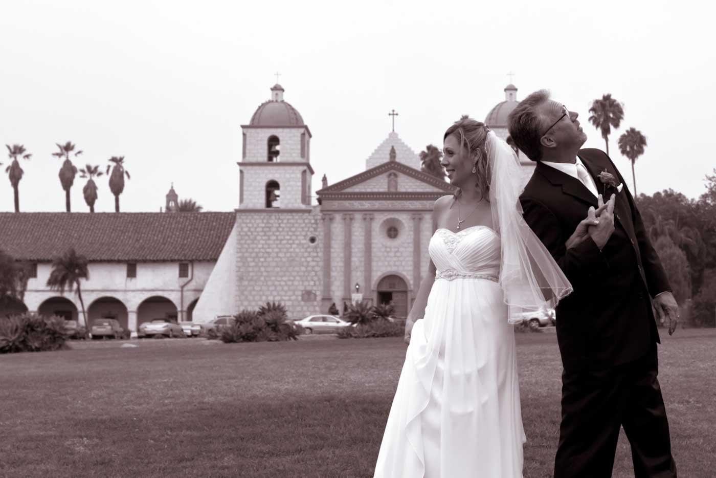 Santa Barbara Wedding At The Old Mission