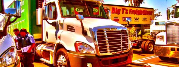 The Berry Man, Inc. Santa Barbara added 2 new Freightliner trucks to its fleet.
