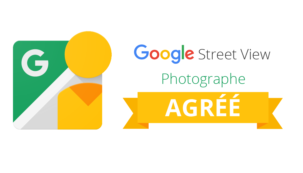 LOGO google Street View Trusted photographe agree by 805 Productions Santa Barbara - Paris - Los Angeles