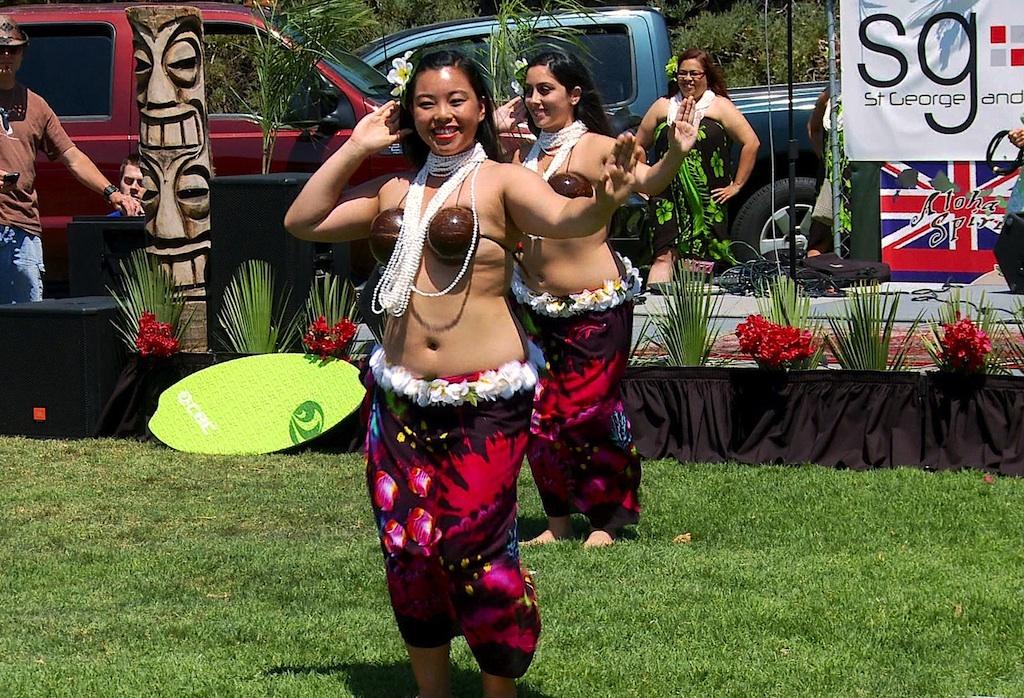 4th annual Aloha Spirit Bash - Interview Manny Ayalo. 805 Productions Santa Barbara