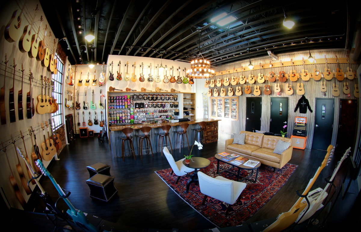 Google Business View of Santa Barbara Guitar Bar created by 805 Productions for Google Maps, Google Search and Google+