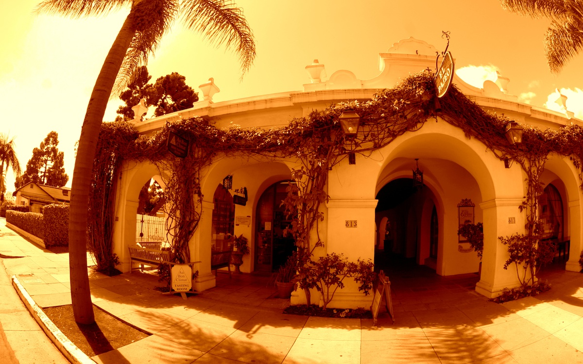 Au bon climat Tasting Room Santa Barbara. Google tour by 805 Productions