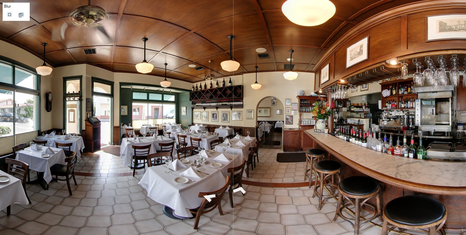 Google virtual tour for Santa Barbara businesses.