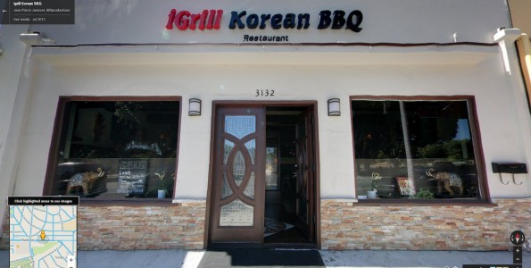 igrill Korean BBQ restaurant. Santa Barbara