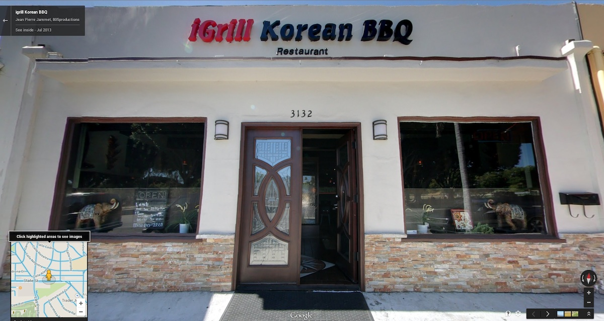 igrill Korean BBQ restaurant Santa Barbara