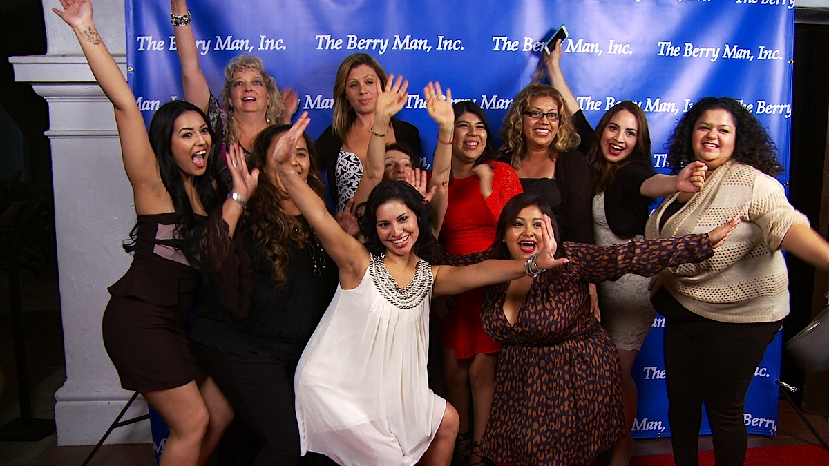 The Berry Man, Inc. 2014 Christmas Party filmed by 805 Productions videography