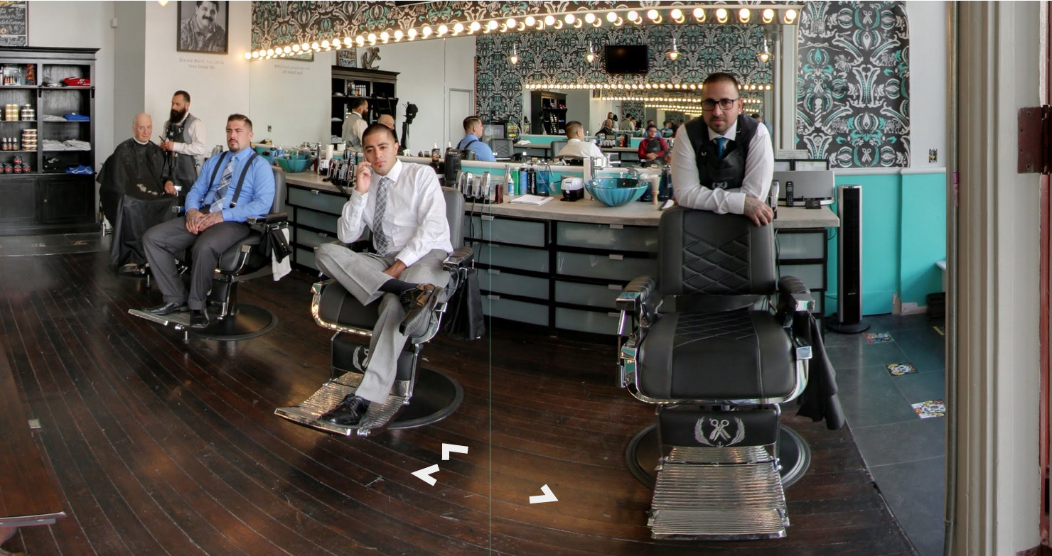 Santa Barbara Barbers Google 360º tour created in Santa Barbara.