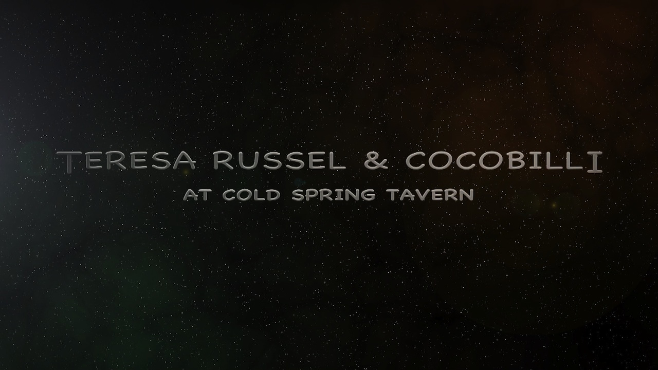 Teresa Russell: Guitar and vocals, Billy Breland: Bass, Coco Roussel: Drums. Recorded at Cold Spring Tavern Santa Barbara. 805 Productions FilmsYT