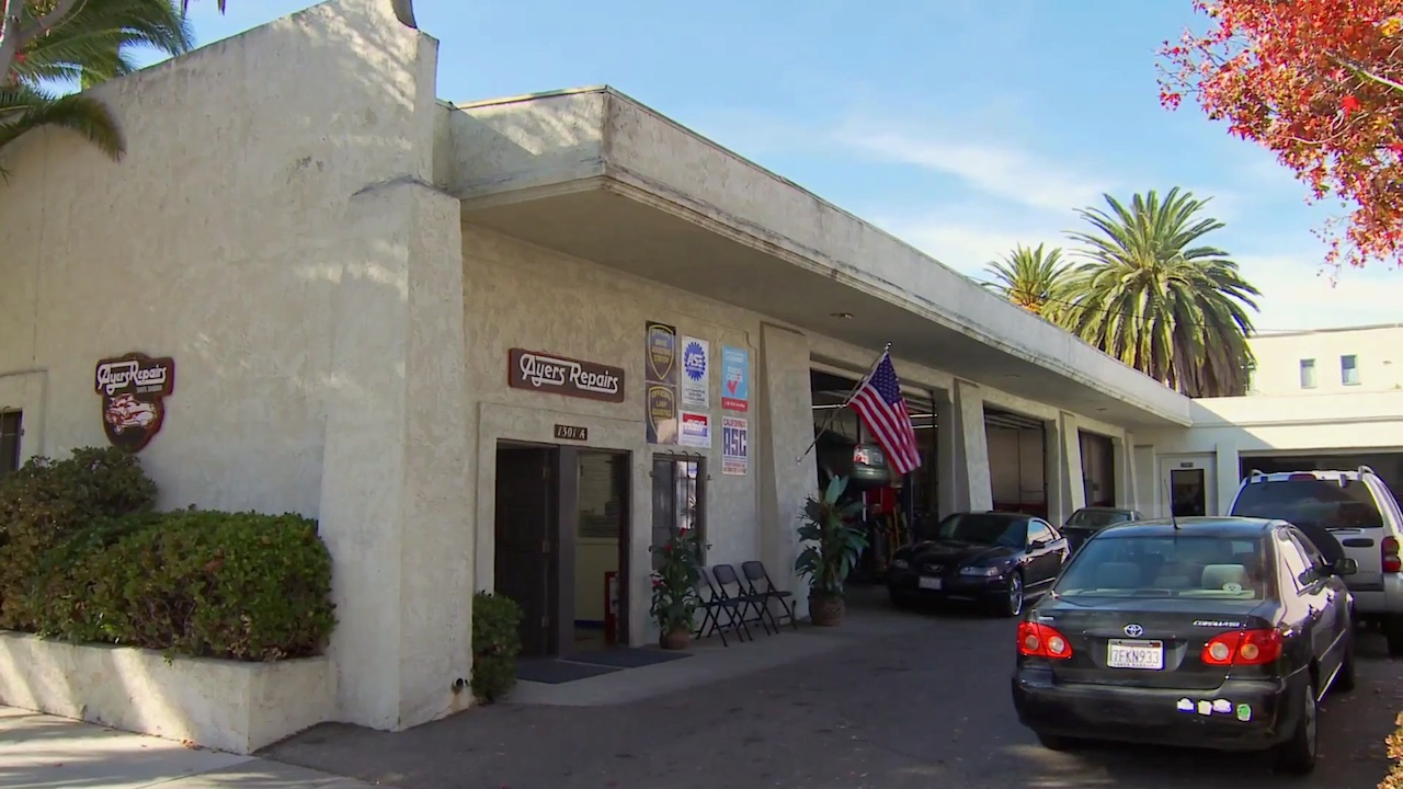 "Ayers Automotive Repairs: ""We care for you and we care for your car."" Santa Barbara #1 auto repair shop in Santa Barbara."