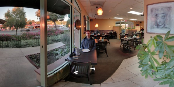 Meun Fan Thai Cafe Google Virtual Tour by 805 Productions Santa Barbara / Paris.