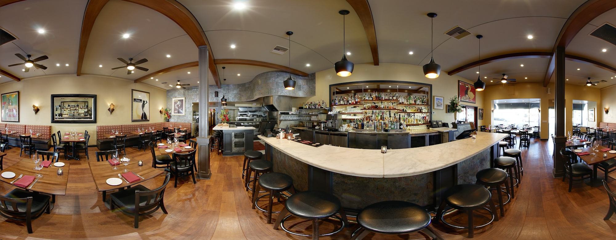 Visit Opal restaurant with the new 2019 Google virtual tour on Google Street View