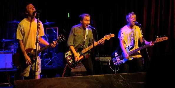 Emily Army live at Velvet Jones, at the New Noise Festival november 2010. Live concert