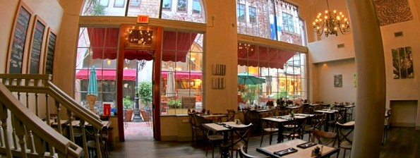 State & Fig california cafe Santa Barbara Google 360 degree Tour by 805 Productions teamed up with Google