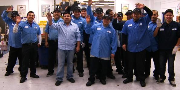 The Berry Man, Inc. night crew. HD film By 805 Productions video Santa Barbara.