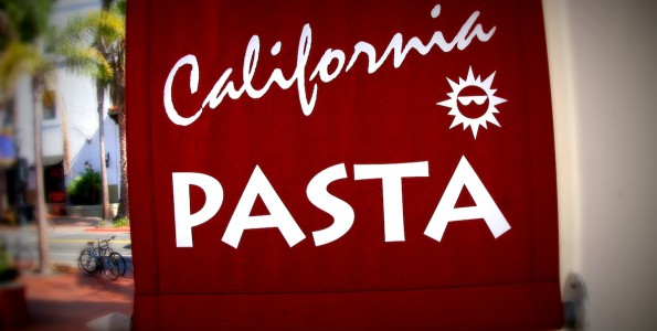 California Pasta Logo. State street Santa Barbara