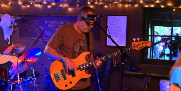 Billi Breland aka Dr Billy : Bass. Recorded at Cold Spring Tavern Santa Barbara. 805 Productions Films